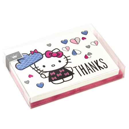 Hallmark Hello Kitty Thank You Cards (10 Cards with Envelopes)