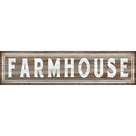 Barnyard Designs Farmhouse Retro Vintage Tin Bar Sign Country Home Decor 15 75  X 4