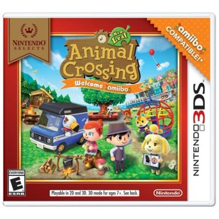 Nintendo Selects: Animal Crossing New Leaf Welcome Amiibo(no Amiibo Card), Nintendo, Nintendo 3DS, 045496744458 for $<!---->
