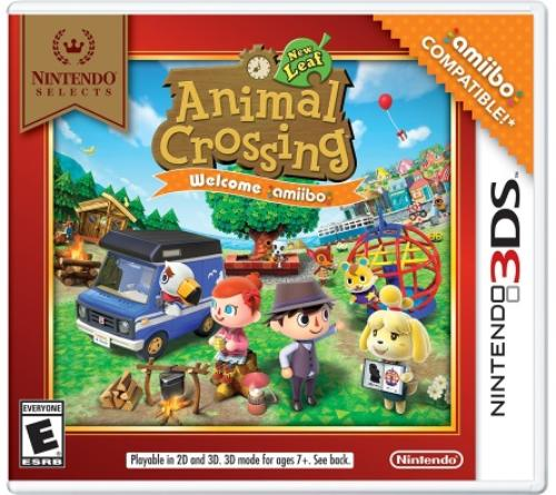 Nintendo Selects: Animal Crossing New Leaf Welcome Amiibo(no Amiibo Card), Nintendo, Nintendo 3DS, - Animal Crossing New Leaf Halloween Room
