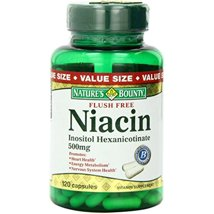Vitamins & Supplements: Nature's Bounty Niacin Flush Free