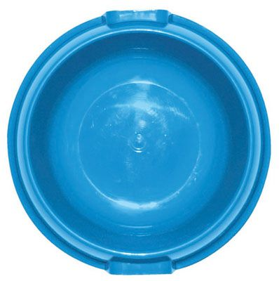 Flp 8857 BLU Plastic Dog Food Bowl - Quantity 24