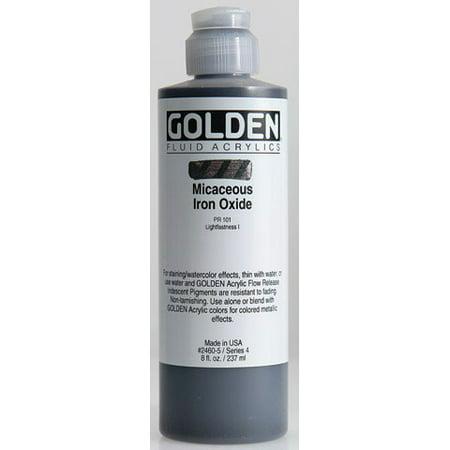 Golden - Iridescent Fluid Acrylic - 8 oz. - Iridescent