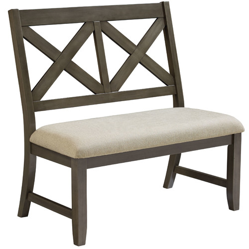 Standard Furniture Omaha Upholstered Entryway Bench