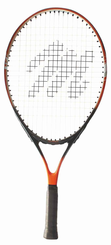 "MacGregor 23"" Youth Tennis Racquet 23""L 4"" Grip (Black Orange) by BSN Sports"