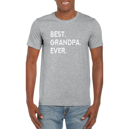 Best Grampa Ever. T-Shirt- Gift Idea for Grandpa