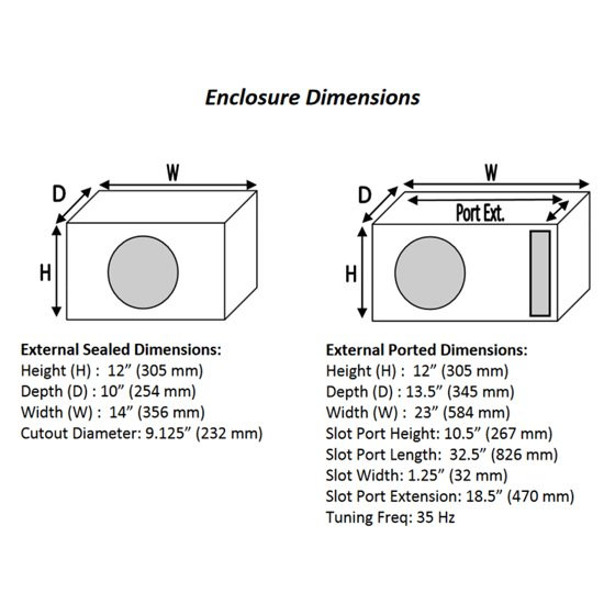 How To Tune A Subwoofer Box To 35hz