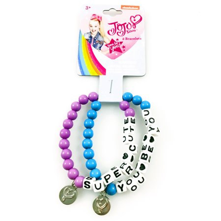 JoJo Siwa Girls Best Friends Bracelets Kids Fashion Jewelry Charms - 3 - Girls Charm Bracelet