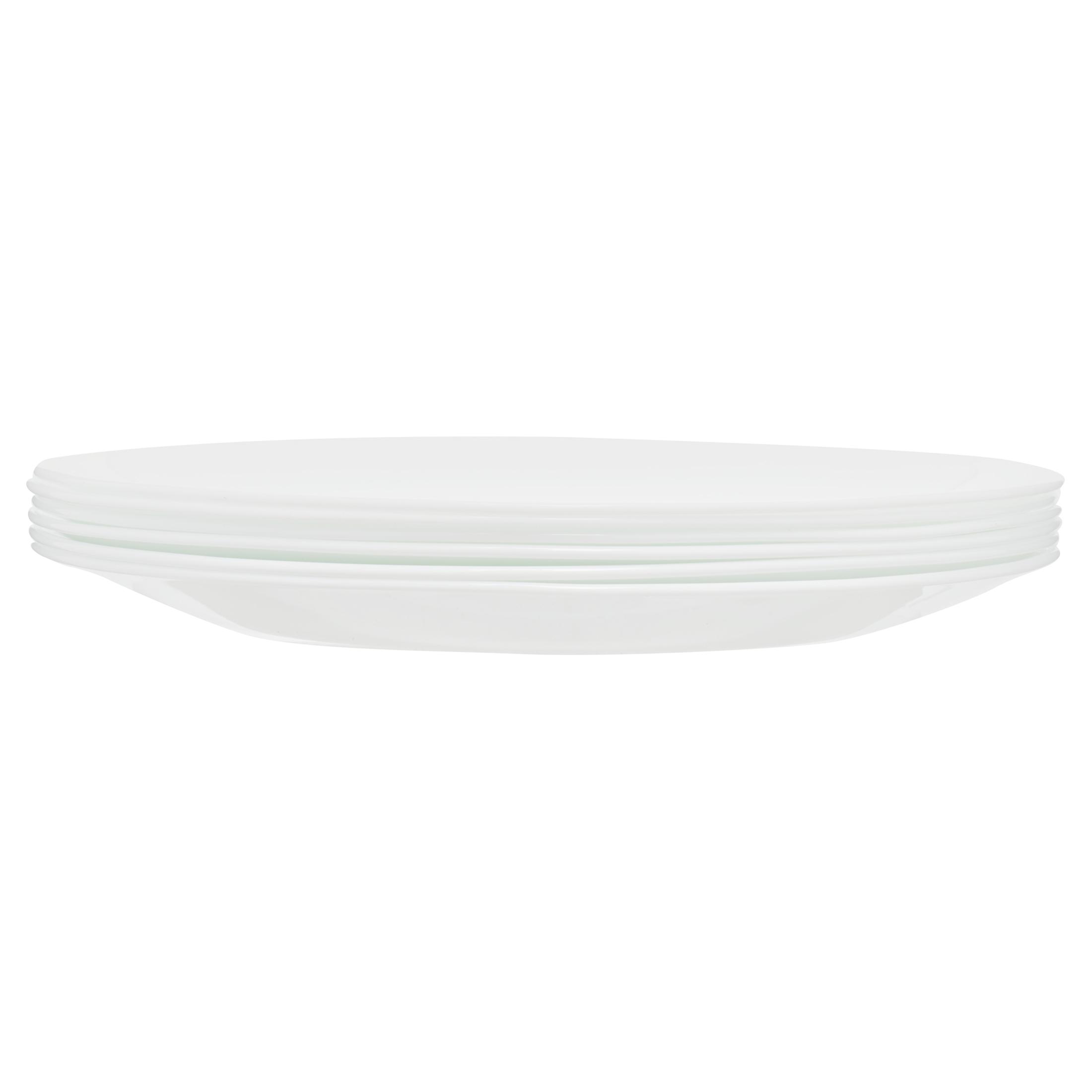 Corelle Classic Winter Frost White 10 25 Dinner Plate Set Of 6 Walmart Com Walmart Com