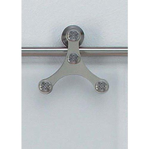 Hafele 941.07.041 Tritec  6-Foot 11-Inch Long Top Hung Glass Sliding Door Fittin