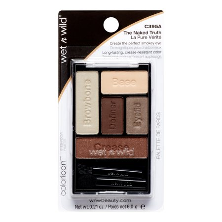 Wet N Wild Color Icon Smokey Eye Shadow Palette, Naked Truth