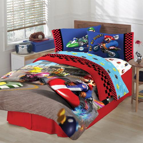Super Mario Twin/Full Reversible Comforter
