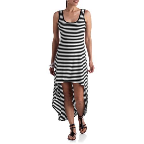 Stitch Women's Knit High Low Tank Maxi Dress