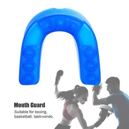 Yosoo Sports Mouth Guard Adult Teeth Braces Protector Gum Shield for Boxing Football Hockey Rugby, Dental -
