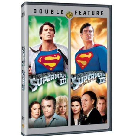 Image of Superman III / Superman IV (DVD + Batman V Superman Movie Money) (Walmart Exclusive)