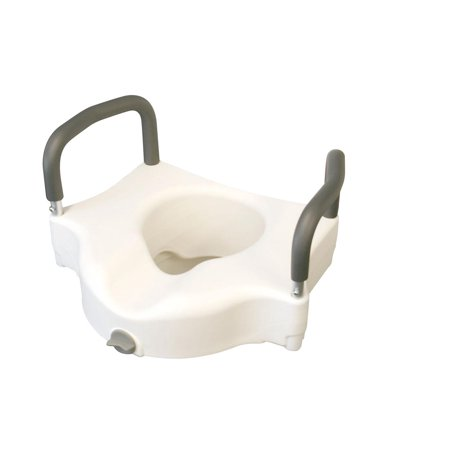 Medline Raised Toilet Seat with - Adjustable Raised Toilet Seat