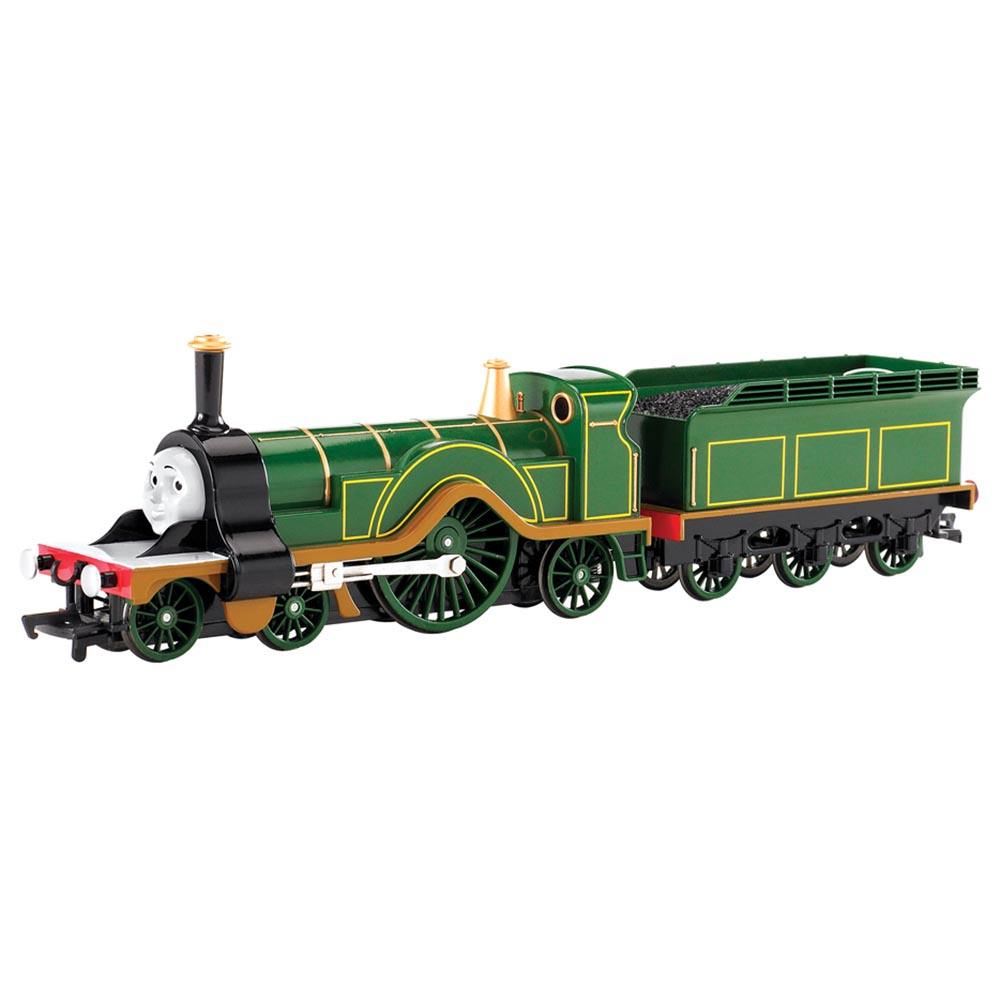Bachmann Trains Thomas and Friends Emily Locomotive with Moving Eyes, HO Scale Train by Bachmann
