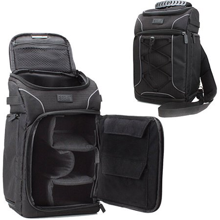 Accessory-Power-USA-GEAR-Professional-SLR-Camera-Sling-Backpack-with-Waterproof-Rain-Cover-and-Storage-for-Accessories
