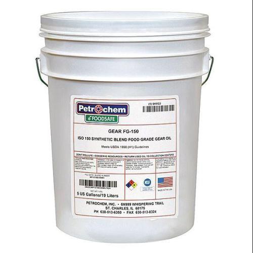 Petrochem FOODSAFE GEAR FG-150-005 Food Grade SemiSyn Gea...
