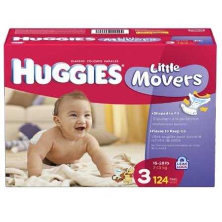 Huggies Supreme Little Movers Diapers Sizes 3 4 5 6