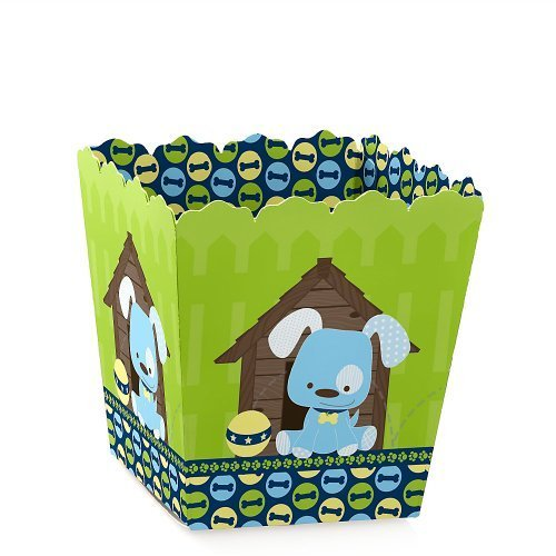 Boy Puppy Dog - Dog Candy Boxes Party Favors (Set of 12)