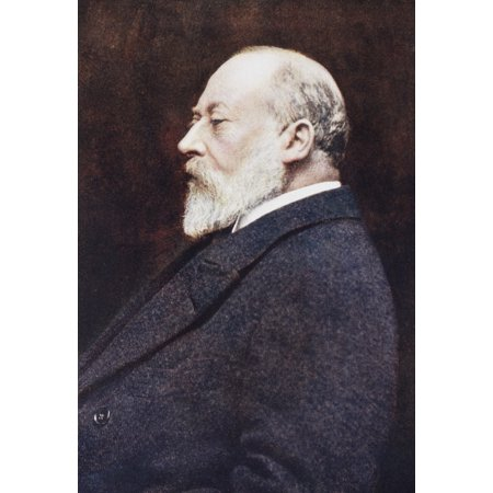 Edward Vii Albert Edward 1841 Canvas Art - Ken Welsh Design Pics (24 x 36)