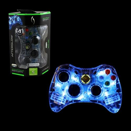 Microsoft Afterglow Wired Controller For Microsoft Xbox 360 - Blue