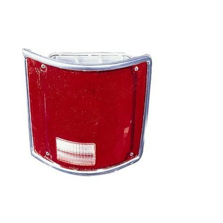 Side Tail Light Lens (Go-Parts » 1975 - 1986 Chevrolet K20 Tail Light Lens - Left (Driver) Side - (Fleetside) 5968329 GM2800122 Replacement For Chevrolet)