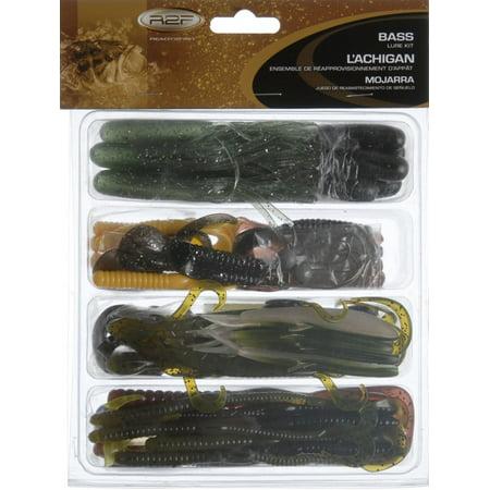 Ready 2 fish r2fk2 bassbx assorted bass fishing lure kit for Bass fishing lure kits