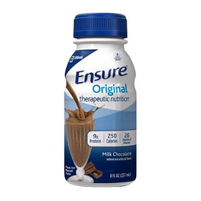 Ensure Original Therapeutic Nutrition Shake Milk Chocolate 8 oz. Carton Institutional - 1 Each](Halloween Milk Carton Crafts)