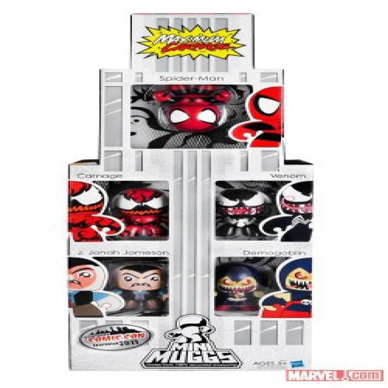 Hasbro NYCC 2011 Exclusive Spider-Man Maximum Carnage Min...