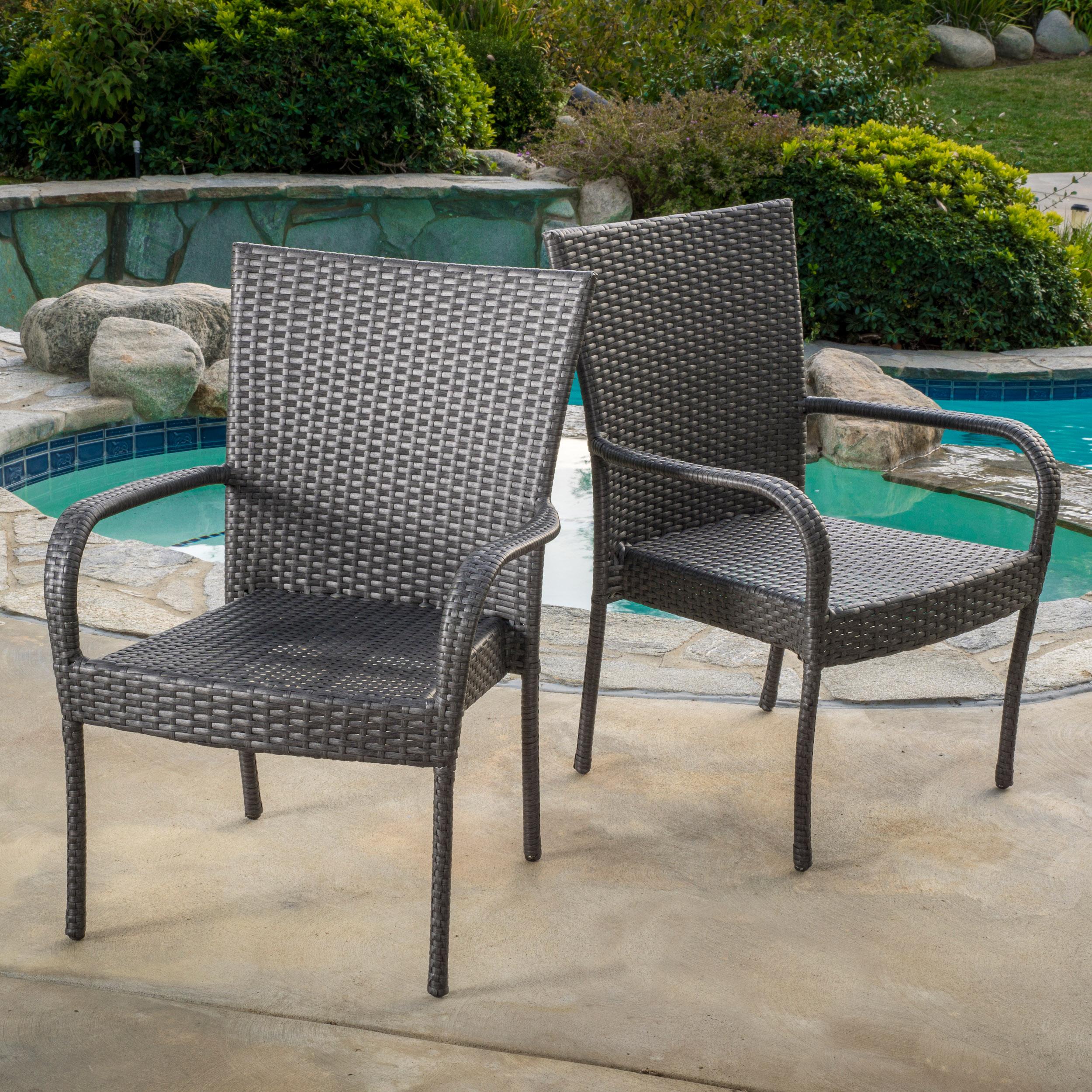 Grey Wicker Chairs wicker chairs