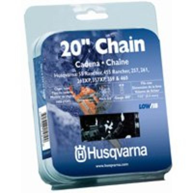 HUSQVARNA FOREST & GARDEN Chain Saw Chain Fits Rancher Models, 20-In.
