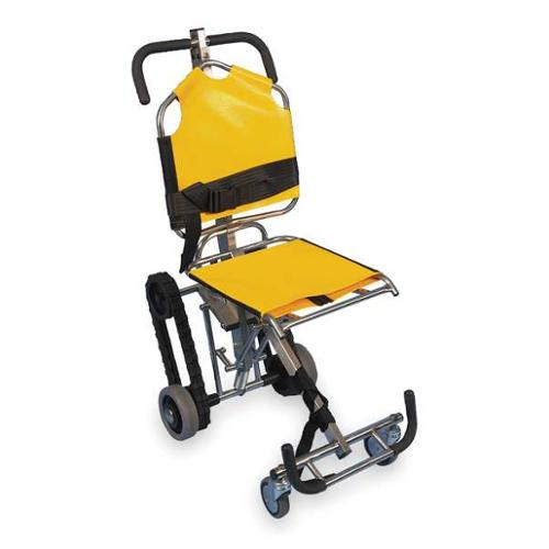 EVAC-CHAIR 700H Stair Chair, 350 lb. Cap., Yellow by EVAC-CHAIR