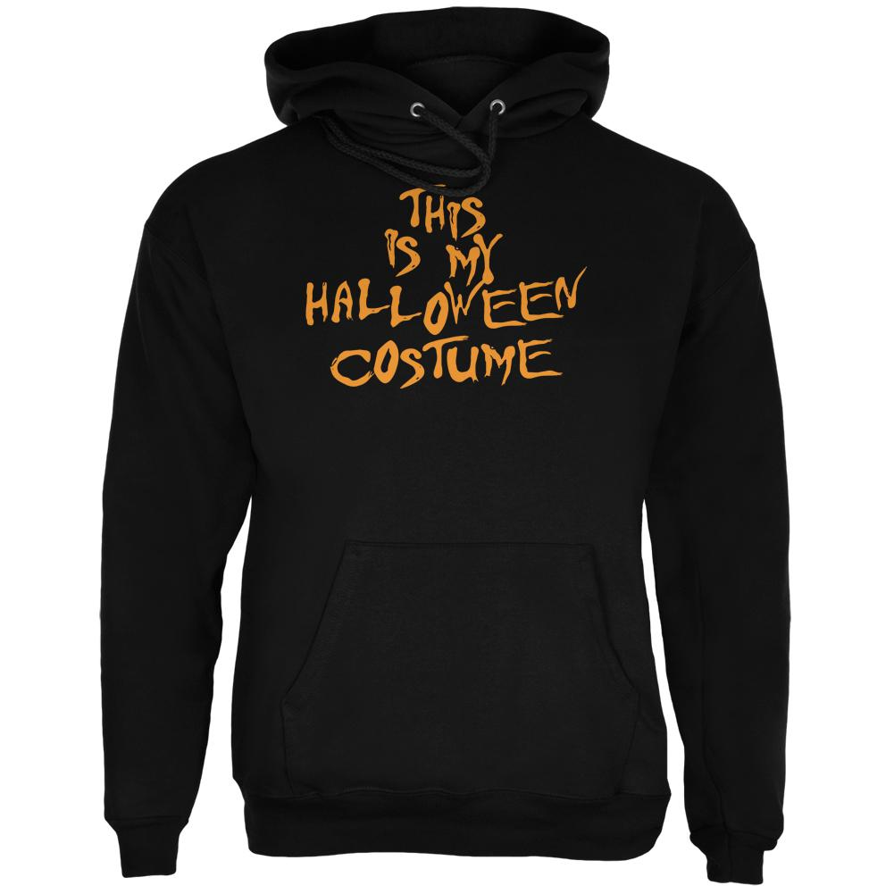 Novelty My Funny Cheap Halloween Costume Black Adult Hoodie