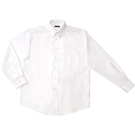9b8c4198 George - Men's Long-Sleeve Oxford Shirt - Walmart.com
