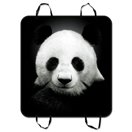 ZKGK Panda Art Dog Car Seat Cover Cushion Waterproof Hammock Protector Cargo