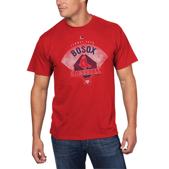 the latest 10845 7cff5 Boston Red Sox Majestic Cooperstown Collection Strategic Advantage T-Shirt  - Red