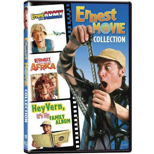 Ernest Movie Collection: Ernest In The Army / Ernest Goes To Africa / Hey Vern! It's My Family Album