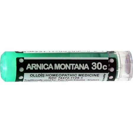 Ollois Arnica 30C Pellets, soulagement de la douleur chronique, 80 Ct