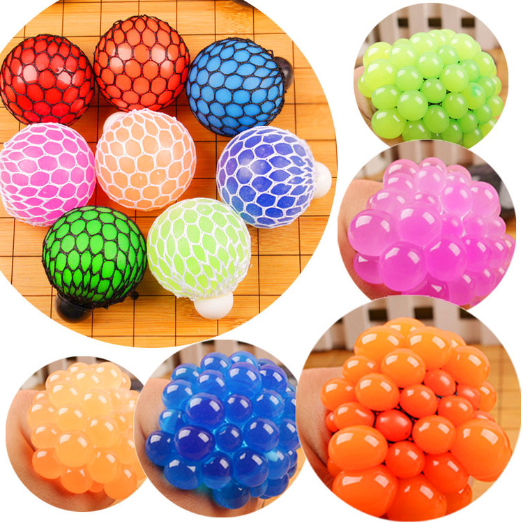 Hand Squeeze Ball,Squeeze Stress Reliever,Funny Design Children Adult Anti Stress Relieve Decompression Squeeze Ball Toy by