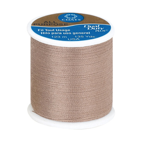 Coats & Clark Dual Duty Plus Thread, 135 yds, Praline