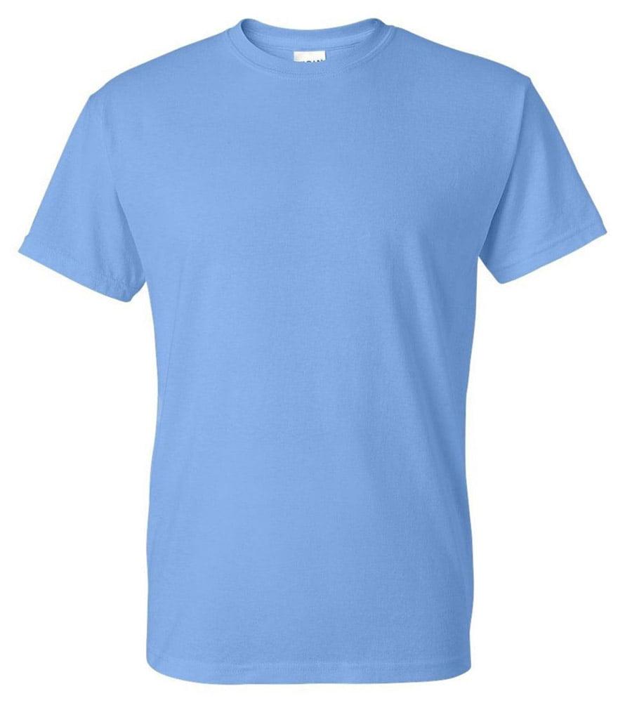 Gildan G8000 50/% Cotton 50/% Polyester DryBlend T-Shirt Carolina Blue Medium 2 Pack