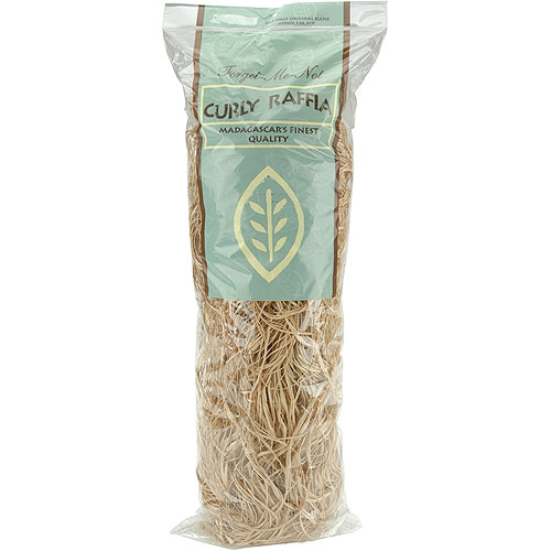 Natural Curly Raffia 6 Ounces