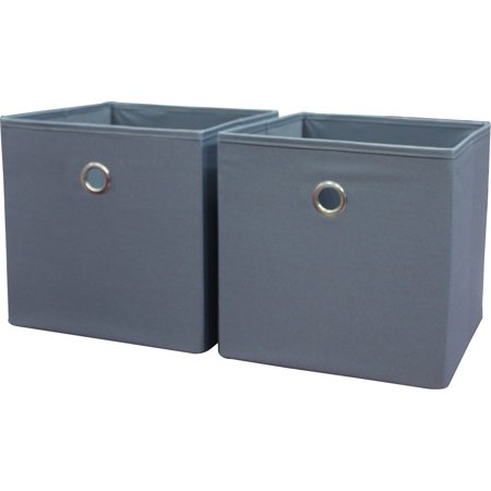 Collapsible Canvas (Mainstays Collapsible Fabric Cube Storage Bins (10.5