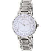 Kate Spade Women's Gramercy 1YRU0792 Silver Stainless-Steel Quartz Watch