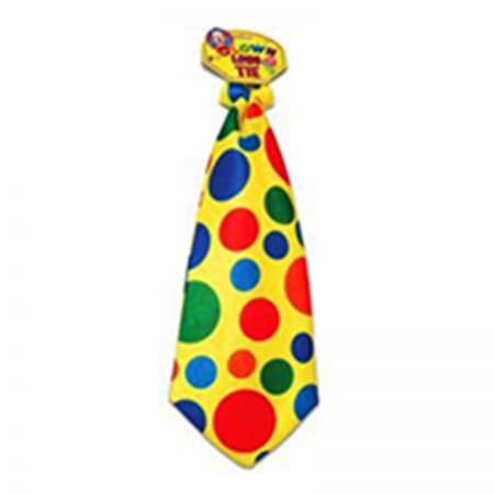 Jumbo Giant Polka Dot Clown Neck Tie