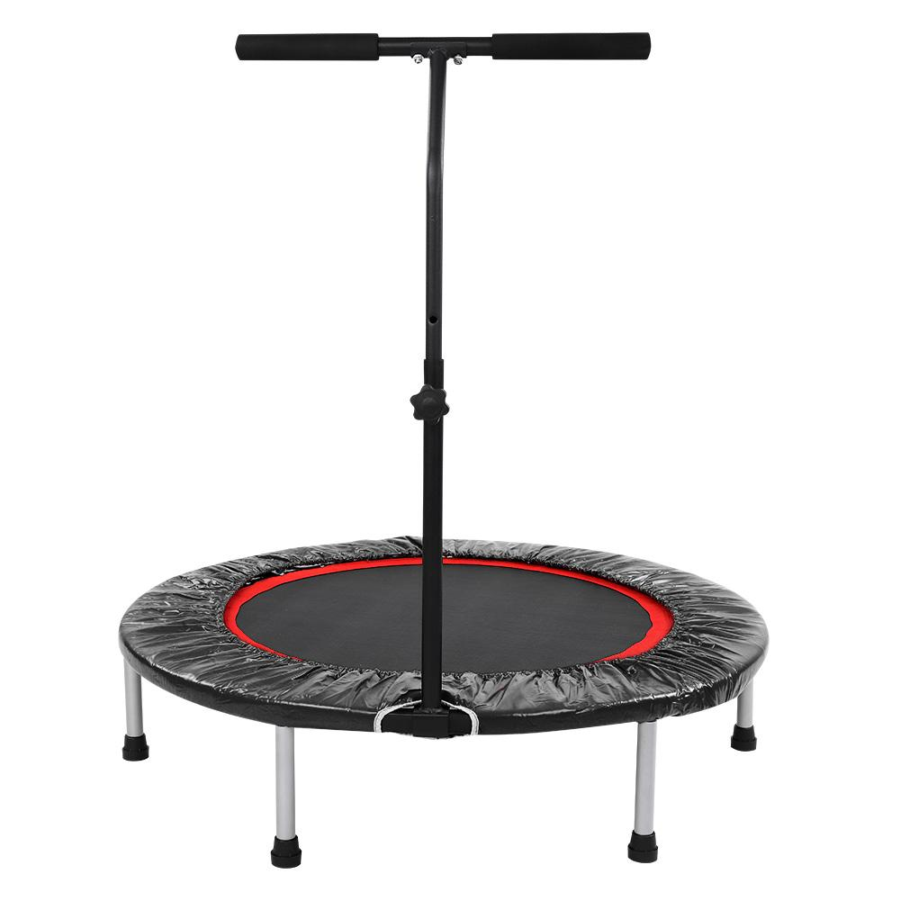 Tebru Indoor Trampoline, Indoor Outdoor Mini Heavy Duty