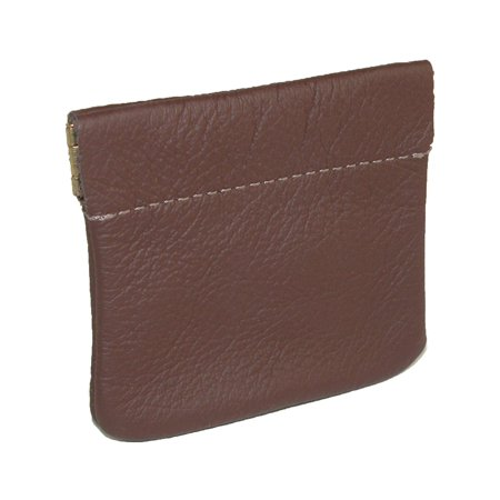Size one size Leather Squeeze Coin Pouch (Designer Coin Pouch For Men)