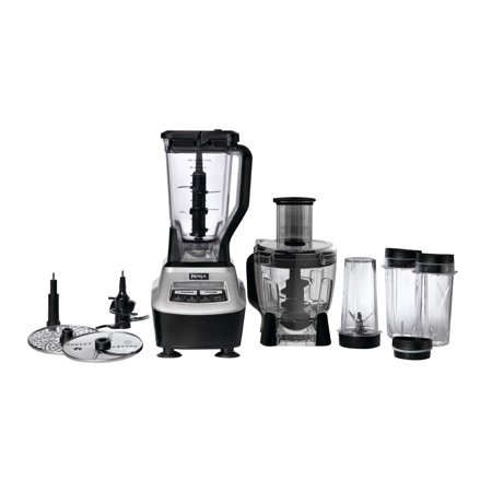 Ninja Mega Food Processor Package & Juicing Recipe Book (Certified  Refurbished)